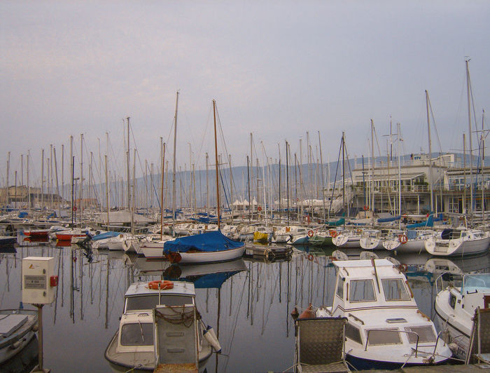 Beauty In Nature Boat Day Harbor Italia Italie Italien Italy Italy❤️ Italy🇮🇹 Mast Mode Of Transport Moored Nature Nautical Vessel No People Outdoors Sailboat Sea Sky Transportation Triest Trieste Water Yacht
