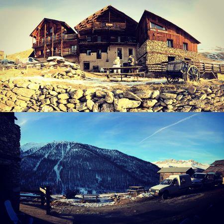 Architecture No People Mountain Chalet Saint Véran (05) Lalobio Gite Neige❄ Ski Luge Vacances Hiver Cold Temperature