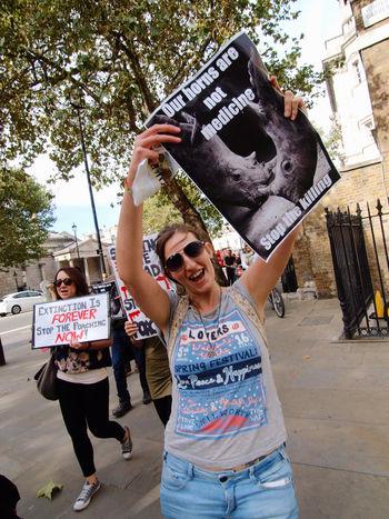 Global March Fro Elephants And Rhinos, London, U.K., 24/09/2016 Anti Poaching Ban Ivory Conservation Elephants Global March For Elephants And Rhinos Ivory Trade Olympus Protect Nature Protest Rhinos Steve Merrick Stevesevilempire Zuiko