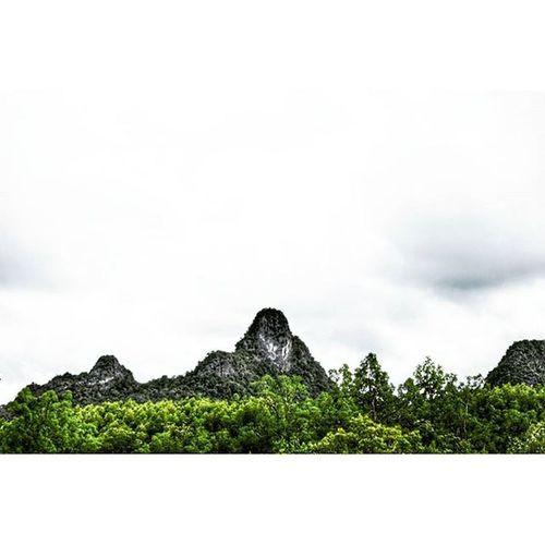 Not hard to see why this Mountain had been named Gorilla rock. ASIA Travel Malaysia Langkawi Pulaulanggun Landscape Photography Monkey Monolith Nature Natgeotravel Natgeo Mountains