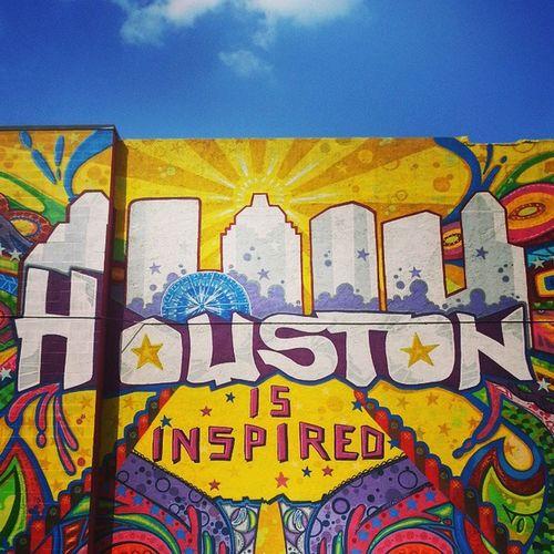 Houston Downtown Streetart Urban Art HistoricDristict Texas HoustonTX Spring