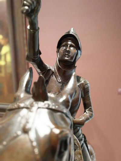 Spaniard King - Royal Person Statue Sculpture Religion Shiny Spirituality Human Representation Metal Close-up Suit Of Armor Knight - Person Medieval