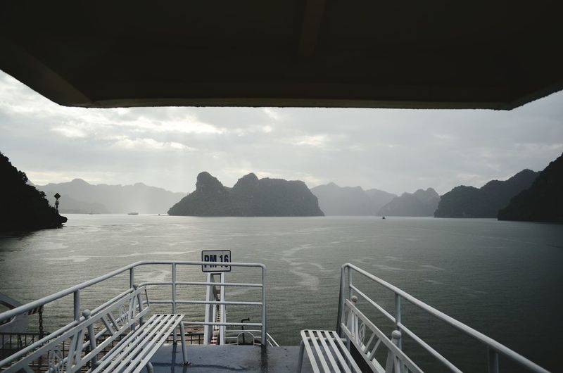 On a ferry to Cat Ba island Ha Long Bay Cat Ba Island Ferry Boat Vietnam Boat Adventures In The City
