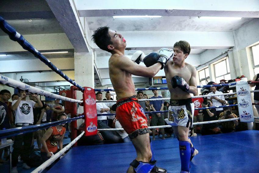 手不容情 Billy Gym's, Inter- Gym's Thai Boxing Light And Shadows HKMTA MAUY THAI Hong Kong Alternative Fitness