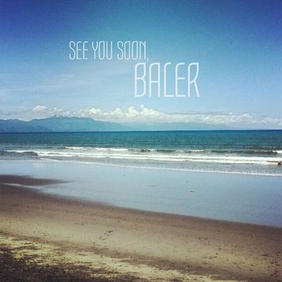 Thank you Baler you've been good to us this weekend. We'll definitely go back soon. Beach Summer Dysfunctionalfamily Philippines instatravel