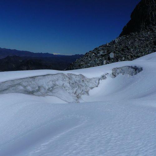 glacial del Pico Humboldt Humboldt Venezuela EyeEm Selects Mountain Life Mountain Snow Cold Temperature Winter Polar Climate Tree Snowcapped Mountain Pinaceae Frozen Sky