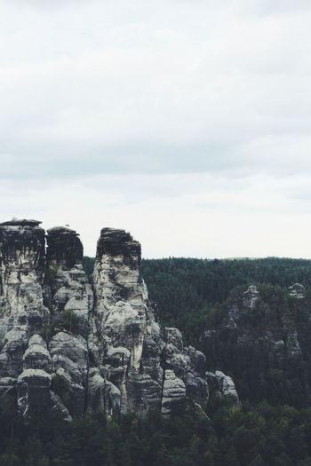 Cliff Rock Face