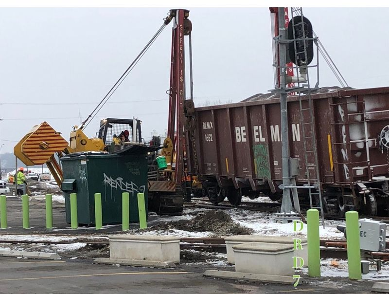 Moving that car!/ Railroad KC. Sky Day Architecture No People Nature Built Structure Building Exterior
