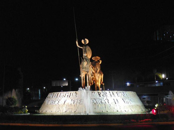 """""""Quijote"""" Monuments Monumentos"""