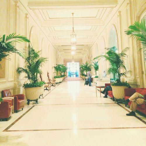 Hotel Lobby Hallway Sunday Brunch Purehipstamatic