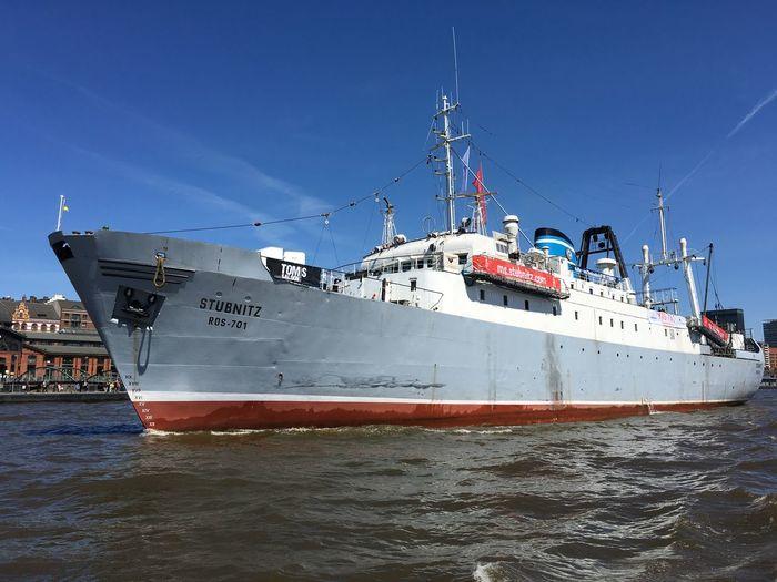 Hamburg Nautical Vessel Transportation Mode Of Transportation Sea Water Sky Ship