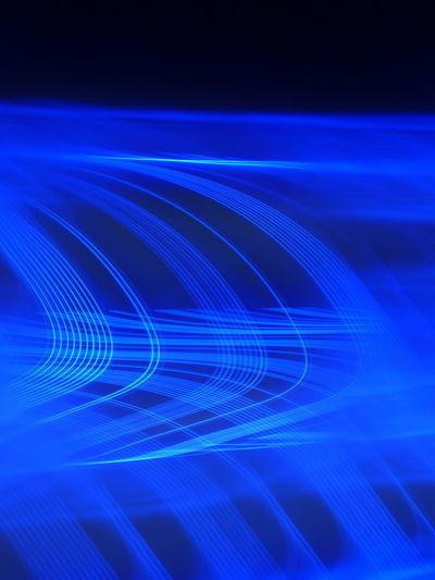 Full frame shot of blue light pattern