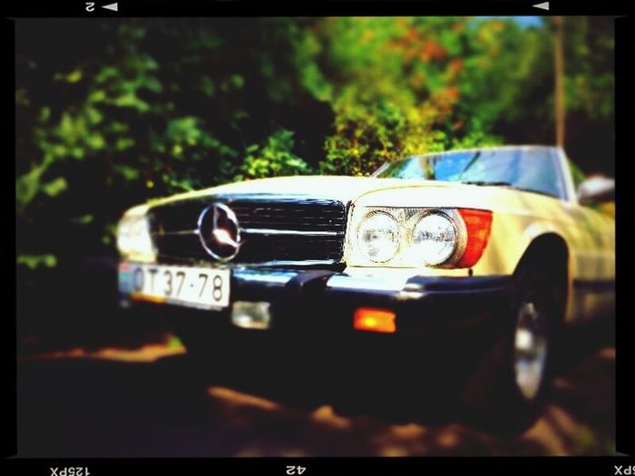 Mercedes-Benz Cabrio Ride Oldtimer Fancy Time