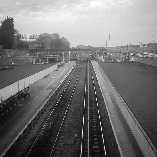 Blackandwhite Railway Uk Trainline Coventry