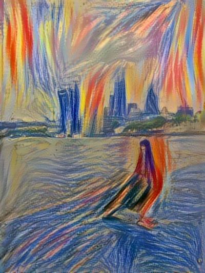 Neuralnetwork Ostagram The Scream Mixed London Pigeon Cucumber Interesting Artist Taking Photos Enjoying Life Modified Check This Out Neural