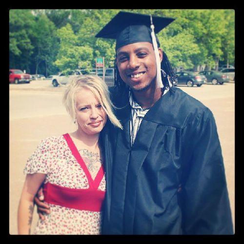 My homie graduated
