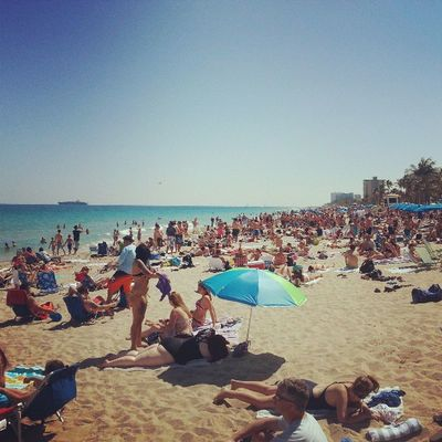 The beach is packed every day! Springbreak2013