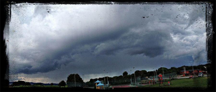 Storm clouds !!!