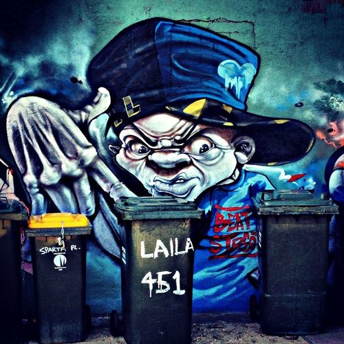 Graffiti Lanes In Brunswick