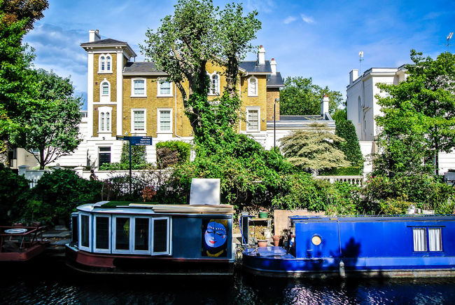 Architecture Boats⛵️ Day England🇬🇧 Fiume Little Venice London London Outdoors River Riverside Sky Tree