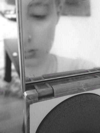 Selfportrait The Portraitist - 2014 EyeEm Awards Blackandwhite The New Self-Portrait