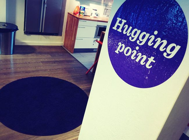 Hugs Purple Interior Design Disruption in Finland :)