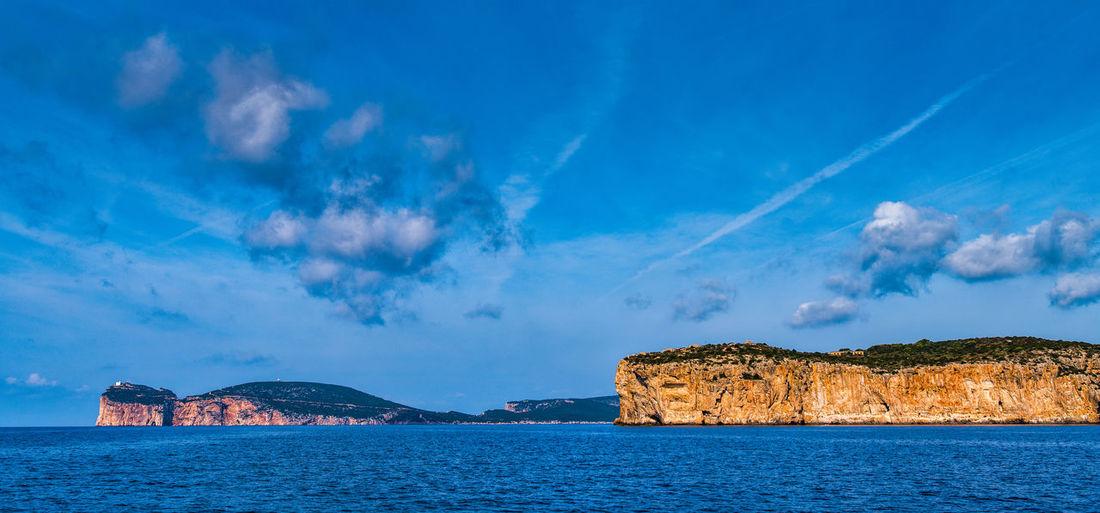 The sea cliff