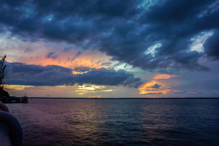 Beauty In Nature Cloud - Sky Day Nature No People Outdoors Scenics Sea Sky Sunset Water
