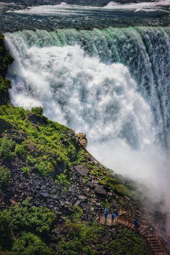 The Tourist Tourist Vs. Nature Niagara Falls Western New York  Waterfalls Travel Photography