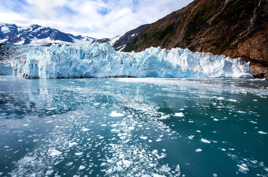 Ice Glacier Nature Mountain Melting Wilderness Environment Landscape Cold Temperature Snow Global Warming Sea Glacial Water Sky Scenery Iceberg Outdoors No People Day Prince William Sound, AK Whittier Ship Adventure Ice Floe