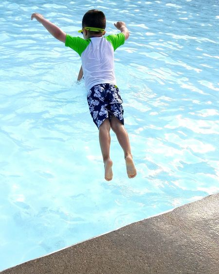 Adventure Club When you believe you can fly. Summer Swimmer Childhood Liveforadventure Pool Time Risktaker