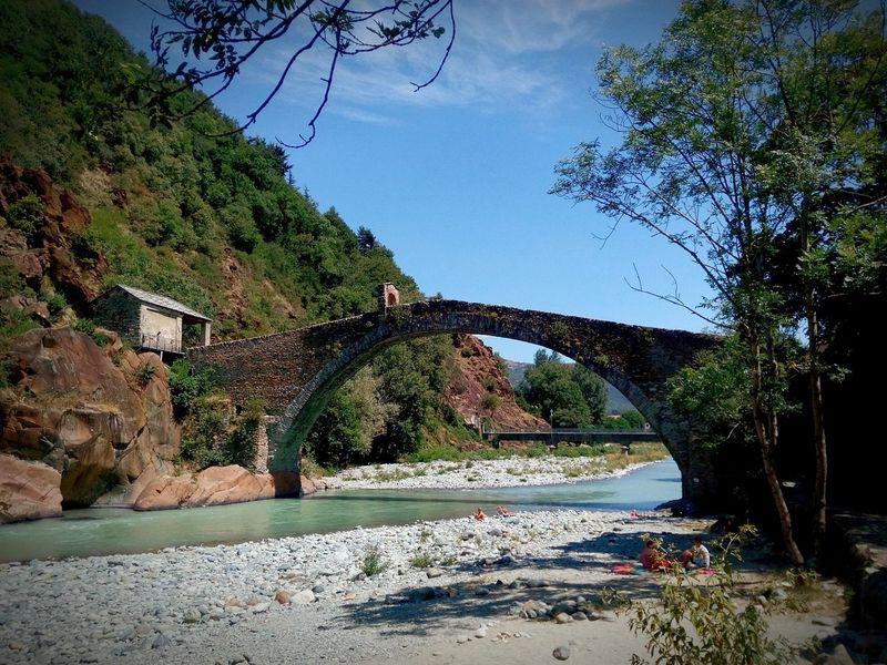 Landscape Bridge Hells Gate Bridge