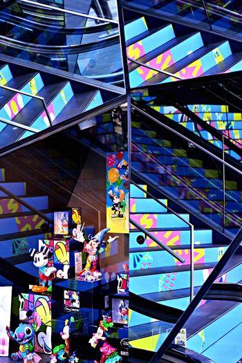 Kaleidoscopic Mirror EyeEm Best Shots - Architecture Tokyuplaza