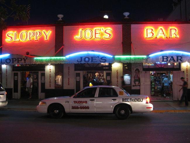 America Bar Car Illuminated Neon Night Outdoors Text