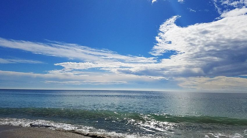 nofilternoeditNofilters Sea Water Beach Horizon Over Water Sky Blue Outdoors No People Nature Scenics Tranquility Cloud - Sky Day Beauty In Nature Seeing The World Differently Thewaythetruththelife Godrules Landscape Nature Faith&devotion Praying