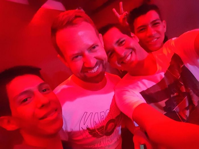 Last Sunday at Paco's with some friends.. Drinking Dancing Jelly Shots Smoking Fun Nightclub Friends