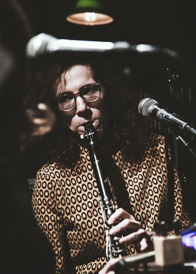 Sound Of Life People Eyeglasses  Close-up Musical Instrument Music Musician Jazz Jazz Musician Performance Indoors  Playing Musicians City Clarinet Clarinetist Clarinetplayer Women Performing Arts Event Arts Culture And Entertainment Close Up Indoors