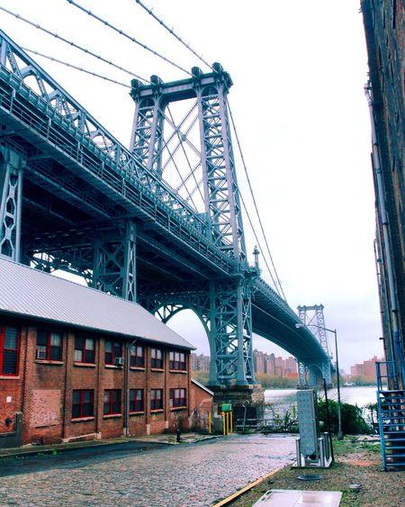 Williamsburg bridge brooklyn Architecture Built Structure Sky Connection Bridge Bridge - Man Made Structure Transportation