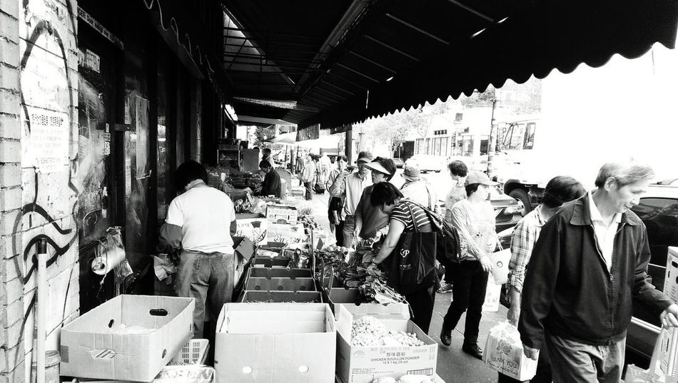 Oakland, CA Urban Photography Black And White Photography Black And White Asian Market