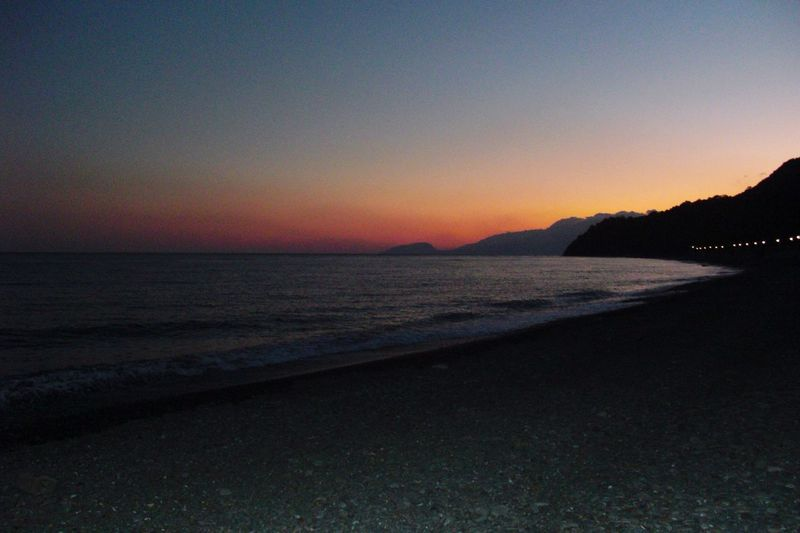 Krimea Kanaka Beautiful Nature Bear Mountain Beach Photography Beachphotography Black Sea♥ Black Sea Sea Sunset