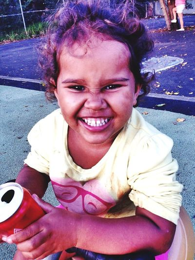 Smiling One Person Happiness Portrait Looking At Camera Cheerful Child Close-up Outdoors Real People Beauty Arts Culture And Entertainment Flower Sydney, Australia Aboriginal Relative Redfern