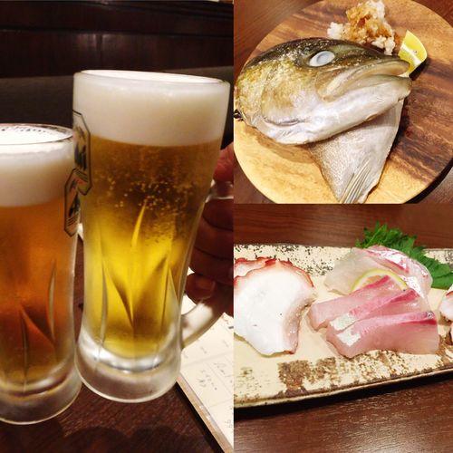 乾杯 生ビール Bier カマ焼き Kumamoto