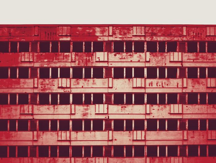 abandoned office complex City City Life Citylife Urban Urban Skyline Urban Geometry Mitte Alexanderplatz Rust Dirt Old Abandoned Red No People Full Frame Architecture Built Structure Backgrounds Texture Grunge Windows Empty Day Outdoors Eyemgallery