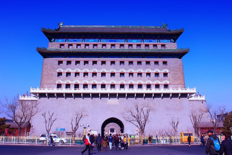 Beijing China 北京前门
