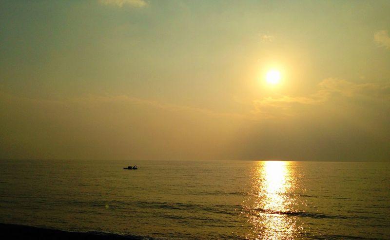 唉~~ Sunset Landscape