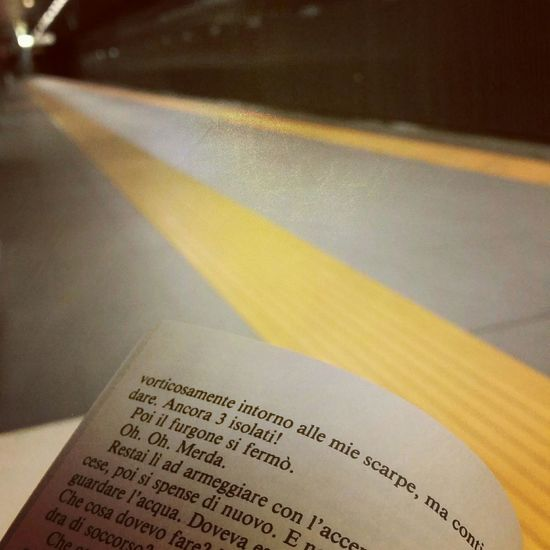 ~Alone in the subway~ Firsteyeemphoto Book Subwayreads Subwayroma Metro Charlesbukowski Postoffice Photooftheday First Eyeem Photo