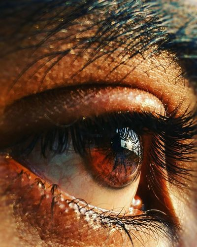 Human Eye Close-up Adults Only Sensory Perception One Person One Woman Only Only Women Eyelash Beauty Adult Human Body Part Beautiful Woman Real People People Outdoors Day Young Adult