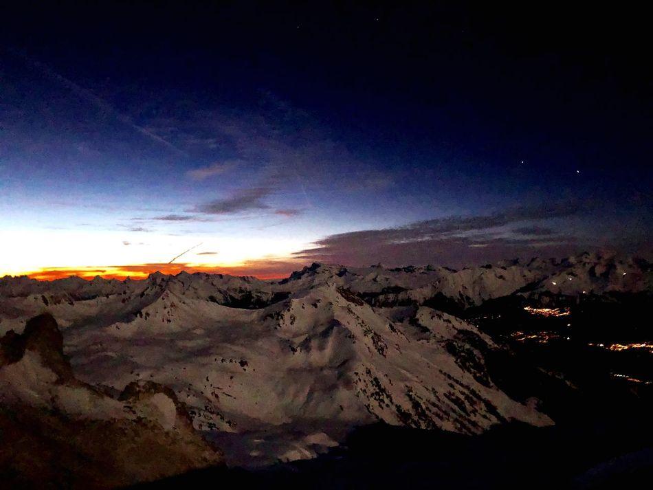 Sunset Swiss Alps Valais Valdanniviers Grimentz Zinal Beauty In Nature Nature Outdoors Go Higher The Great Outdoors - 2018 EyeEm Awards