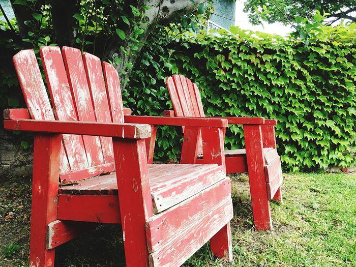 Light spectator WoodChair Red First Eyeem Photo