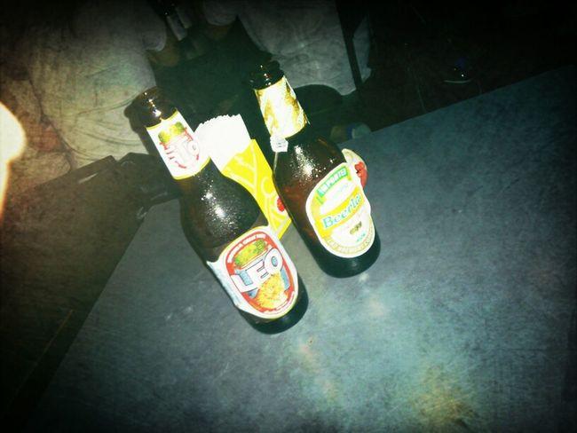 Having A Beer Roof Bar Khao San Road